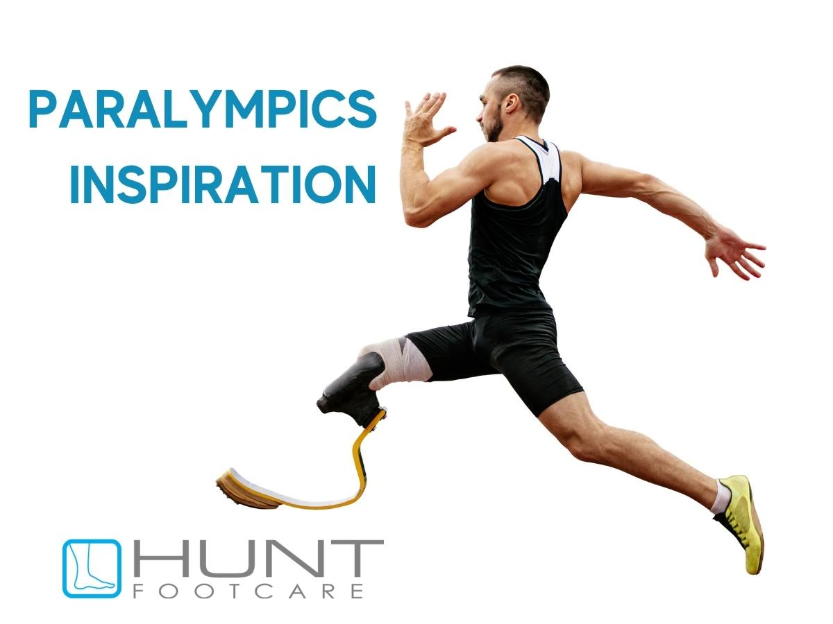 disabled sprinter with running blade